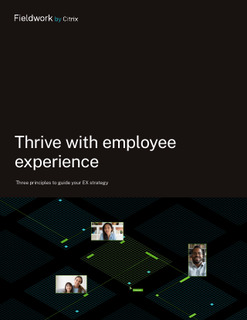 Thrive with employee experience: Three principles to guide your EX strategy