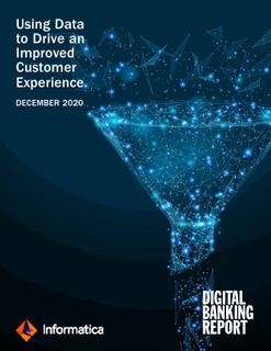 Using Data to Drive an Improved Customer Experience by Digital Banking Report