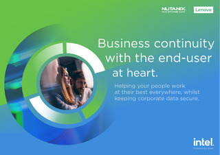 Deploy & manage virtual desktops with ease with VDI from Lenovo and Nutanix