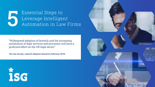 5 Essential Steps to Leverage Intelligent Automation in Law Firms