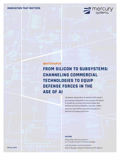 From Silicon to Subsystems: Channeling Commercial Technologies to Equip Defense Forces in the Age of AI