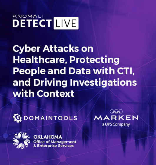 Detect LIVE – April Sessions