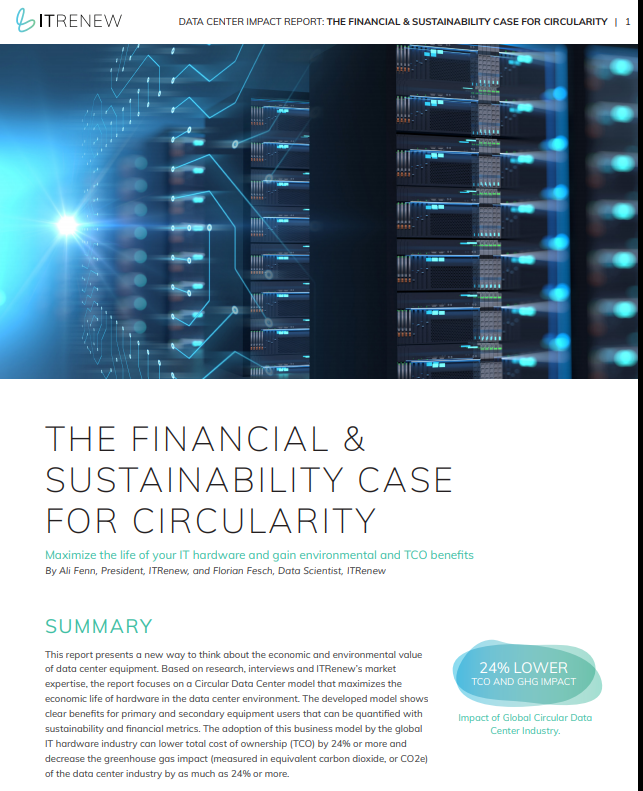 The Financial & Sustainability Case for Circularity