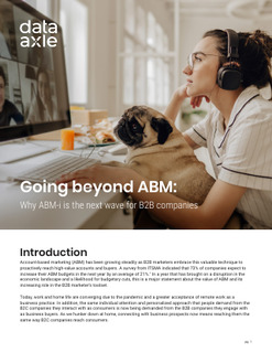 Going Beyond ABM: Why ABM-i Is The Next Wave for B2B Companies