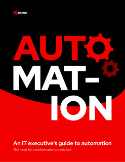 An IT Executive's Guide to Automation
