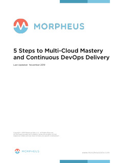 5 Steps to Multi-Cloud Mastery and Continuous DevOps Delivery