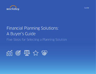 Financial Planning Solutions: A Buyer's Guide