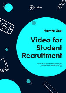 How to Use Video for Student Recruitment