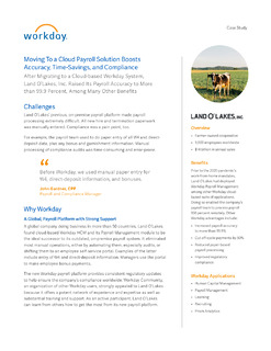 Moving To a Cloud Payroll Solution Boosts Accuracy, Time-Savings, and Compliance