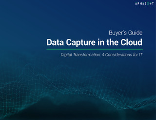 Buyer's Guide: Data Capture in the Cloud