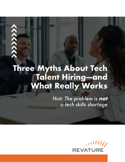 3 Myths About Tech Talent Hiring – And What Really Works