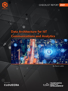 Data Architecture for IoT Communications and Analytics