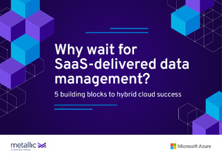 Why Wait for SaaS-Delivered Data Management?