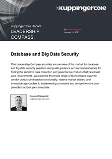 KuppingerCole Report: Leadership Compass – Database and Big Data Security