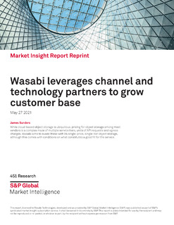 Wasabi Leverages Channel and Technology Partners to Grow Customer Base