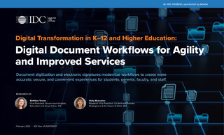 Digital Document Workflows for Agility and Improved Services