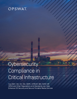 Cybersecurity Compliance in Critical Infrastructure