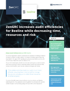 ZenGRC Increases Audit Efficiencies for Beeline While Decreasing Time, Resources and Risk