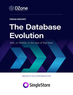 The Database Evolution: SQL or NoSQL in the Age of Big Data