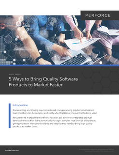 5 Ways to Bring Quality Software Products to Market Faster