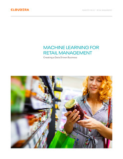 Machine Learning for Retail Management