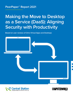 Making the Move to Desktops as a Service: Aligning Security with Productivity