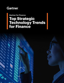 Top Strategic Technology Trends for Finance
