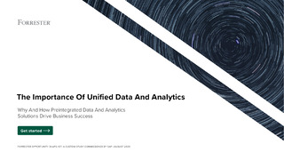 The Importance of Unified Data and Analytics