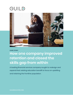 How one company improved retention and closed the skills gap from within