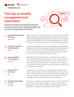 Tech Tips to Simplify Management and Automation