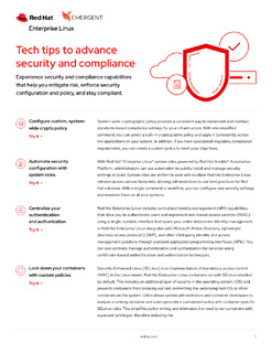 Tech Tips to Advance Security and Compliance