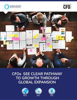 CFOs See a Clear Pathway to Growth Through Global Expansion