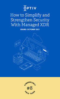 How to Simplify and Strengthen Security with Managed XDR